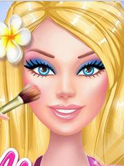 Barbie se pregateste de plaja