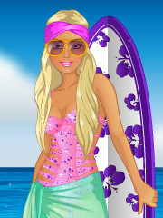 Joaca Barbie Merge La Surfing