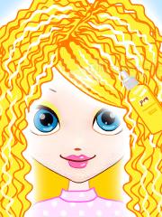 Barbie la salon