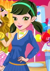Barbie la petrecere