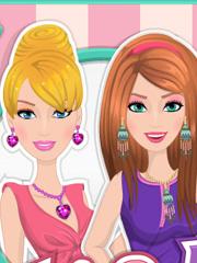 Barbie si Prietena Ellie la Machiat