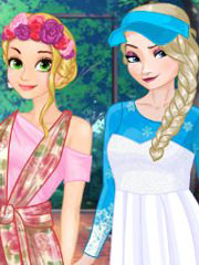 Barbie alege rochie sau fusta