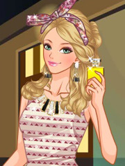 Joaca Barbie Are Parfum Nou