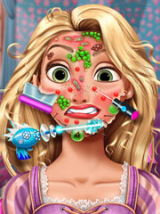 Joaca Barbie Are Probleme Cu Tenul
