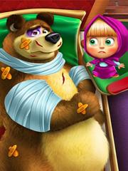 Barbie cu Masha si Ursul