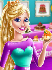 Barbie deschide patiserie