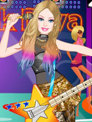 Joaca Barbie Diva Rock