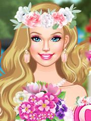 Barbie este domnisoara de onoare