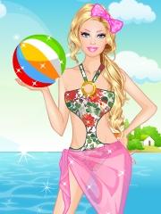 Barbie e pe plaja