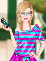 Joaca Barbie Face Selfie