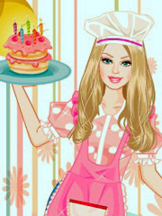 Joaca Barbie Face Tort