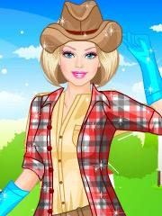 Joaca Barbie Fermiera