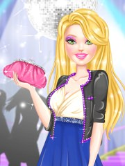 Barbie imbracata de bal