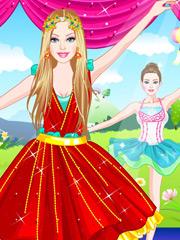 Barbie in pantofi roz