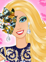 Barbie la bal mascat