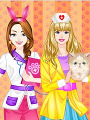 Joaca Barbie La Scoala Veterinara