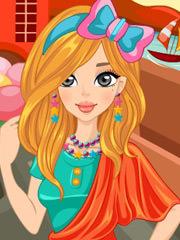Barbie la un spa dulce
