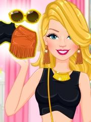 Barbie moda cu franjuri