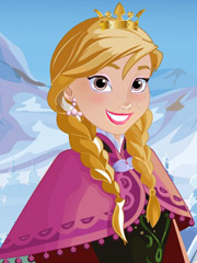 Barbie si Anna din Frozen
