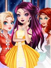 Barbie si seara printeselor