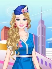 Barbie stewardesa