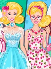 Barbie vintage vs retro