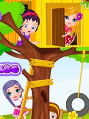 Joaca Casa In Copac A Lui Barbie