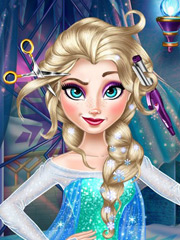Coafura lui Barbie din Frozen
