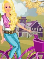 Joaca Cu Barbie La Tara