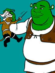 Dai culoare lui Shrek