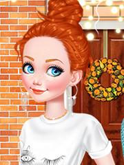 Decor De Toamna Cu Barbie