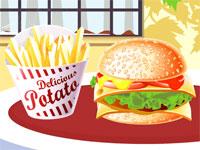 Prepara hamburgerul