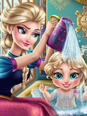Joaca Elsa Face Baie Fetitei