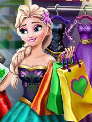 Elsa la cumparaturi