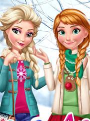 Elsa Si Ana Prietenele Lui Barbie