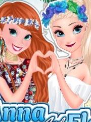 Festival de vara cu Anna si Elsa