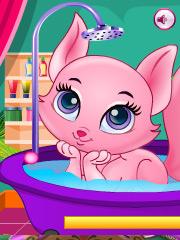 Joaca Ingrijeste De Pisica Roz