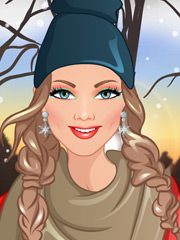 Machiaj de iarna cu Barbie