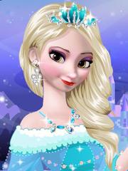 Joaca Machiajul Lui Elsa Din Frozen