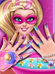 Joaca Manichiura Lui Super Barbie