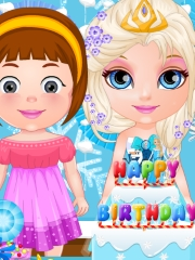 Micuta Barbie da petrecere