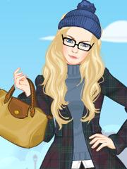 Moda de iarna cu Barbie