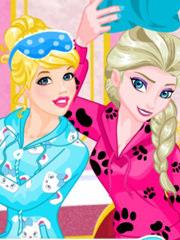 Petrecere in pijamale cu Barbie