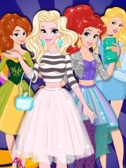 Joaca Printesele Disney La Intalnire