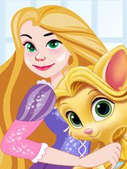 Joaca Rapunzel Ingrijeste Pisicuta