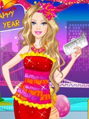 Joaca Rochia Lui Barbie De Anul Nou