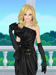 Rochia neagra a lui Barbie