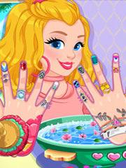 Salonul de manichiura a lui Barbie