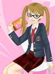 Uniforma scolara a lui Barbie